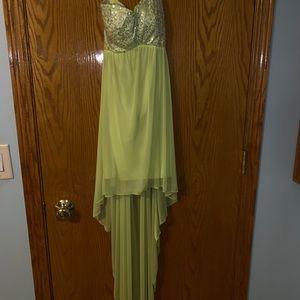 Neon yellow myMichelle dress